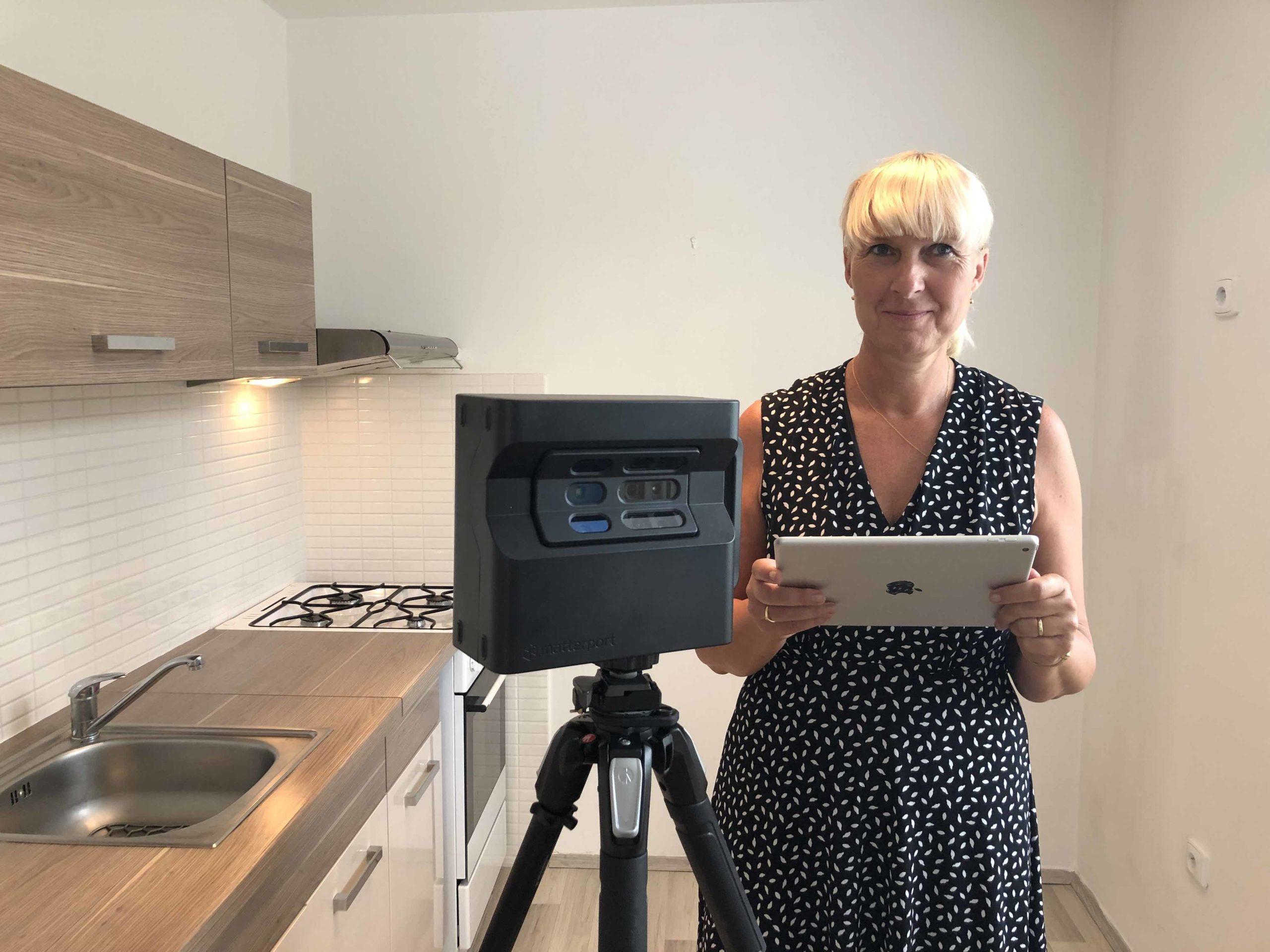 Virtuální prohlídka bytu na Jižním Městě Hloušková