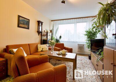 byt 2+kk, Praha 4 - Chodov, ul. Augustinova - obývací pokoj