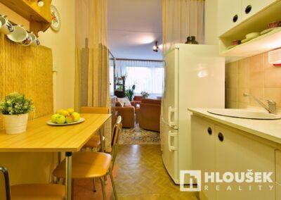 byt 2+kk, Praha 4 - Chodov, ul. Augustinova - kuchyňský kout