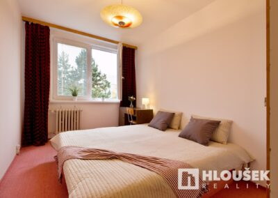 byt 2+kk, Praha 4 - Chodov, ul. Augustinova - ložnice