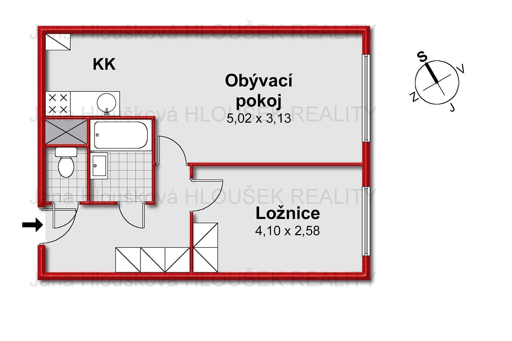 Prodej bytu na Lhotce Praha 4 - Jana Hloušková Realitní makléř pro Jižní Město