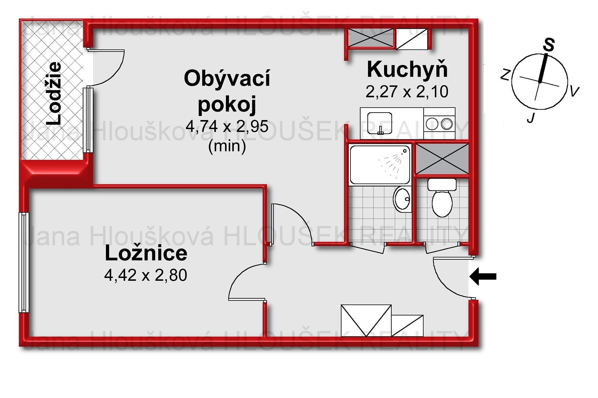 Prodej bytu ul. Tererova, Praha 4 - Jana Hloušková Realitní makléř pro Jižní Město