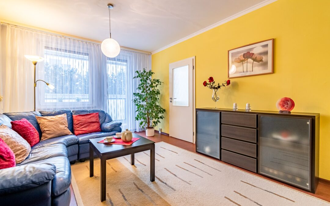 Příprava bytu k prodeji, homestaging