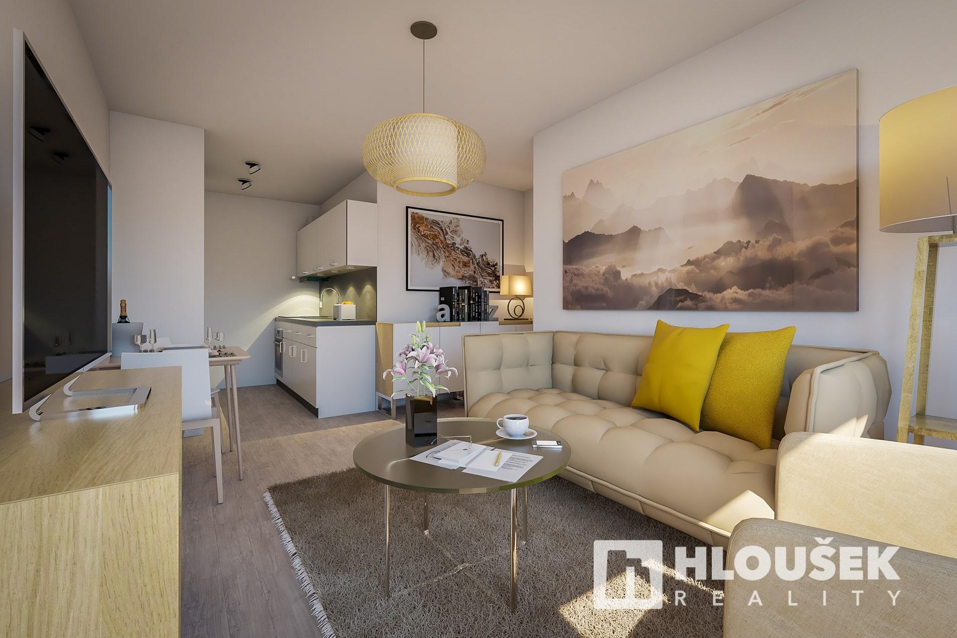 Prodej bytu Praha 4 - Chodov, ul. Tererova, vizualizace